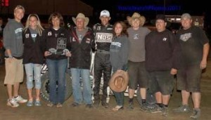 Bryan Clauson and crew pick up the 2011 Mopar USAC