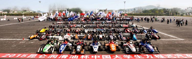 Keizer Wheels set standards in China Formula comp!