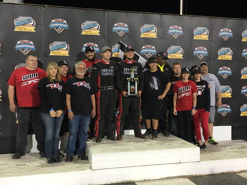 Kline Wins and Ball Finishes Second at Knoxville Raceway