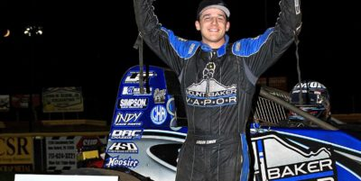 "Simon Scores In Lincoln Usac Sprint ""Special Event"""