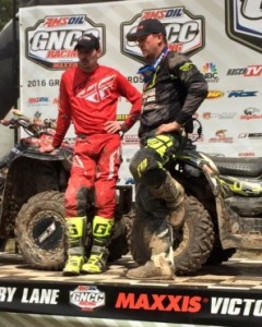 Conningham 2 for 2 on the GNCC 4x4 podium!